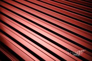 Minimalni naklon pločevinske strehe