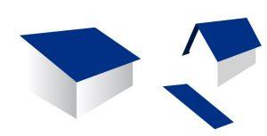 Izračun kritine, diagonale strehe ter naklona strehe